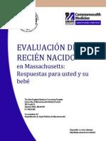 Evaluacion Pediatrica del recien nacido