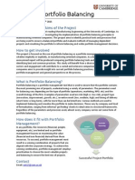 Porfolio Balancing Project Summary
