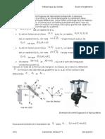 Mécanique de Solide - TD
