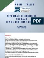 presentacion justicia laboral