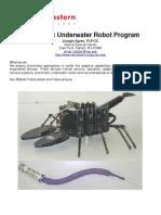 Biomimetic Underwater Robot Program