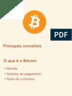 Bitcoin - Principais conceitos