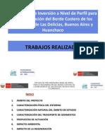 PROBABLE SOLUCION DE LA EROSION COSTERA EN LAS DELICIAS-BUENOS AIRES Y HUANCHACO