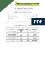 Manual de Matriculacion SICAU UTEQ 2015-2016 PPA