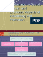 Social ,Ethical & Economic Aspects of Advertising