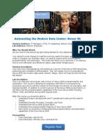 Invitation to Automating the Modern Data Center Nexus 9k