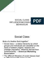 Social Class Influence & CB