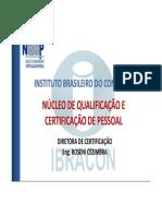 Certificação Ibracon