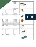 Lista de Materiales Tarjeta de Desarrollo