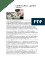 Investigación de la deuda en Argentina Por Julio C. Gambina