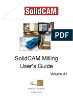 BOOK - Solidcam 2006 Rev. 10.1 Milling User Guide Vol. 1