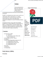Wiki Rugby Football Union