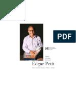Signos de Todos Los Reinos, Muestra Antológica 1982-2012. Edgar Petit