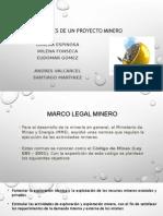 Aspectos Legales de Un Proyecto Minero