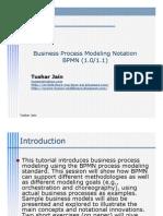 Business Process Modeling Notation BPMN (1.0/1.1)