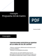 Propuesta Conceptual Gil de Castro
