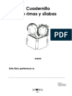 Cuadernillo de Rimas y Sls