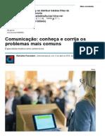 Comunicação_ Codnheça e Corrija Os Problemas Mais Comuns - Notícias - Carreira - Administradores