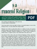 Islam the Peaceful Religion