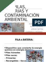 Las Pilas, Baterias y Contaminación Ambiental 05.05