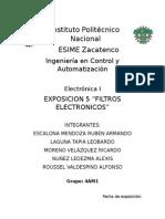 FILTROS ELECTRONICOS