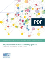 2015 Job Satisfaction and Engagement Report