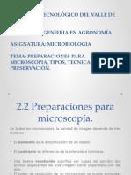 Preparaciones Para Microscopia, Tipos, Tecnicas y Preservación.