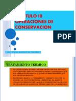 Capitulo III OPERACIONES DE CONSERVACION