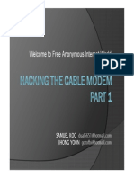 dugo hack cable modem
