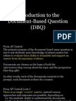 introduction to the dbq
