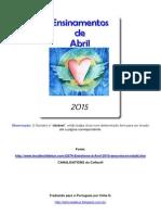 Ensinamentos de Abril 2015