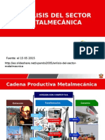 02 Sector Metal Mecánica en el Perú