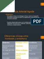 tratamiento insuficiencia arterial aguda