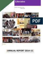 OBLF Annual Report 2014-15