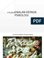 Pengenalan Kepada Psikologipengenalan Kepada Psikologi