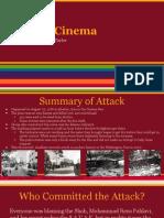 fire in cinema- terrorist attack