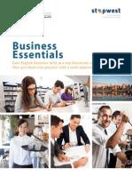 Business Essentials Program