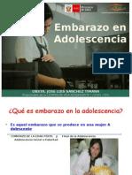 Adolescente y gestacion