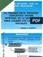 Ponencia Trabajo, Educación y Sociedad