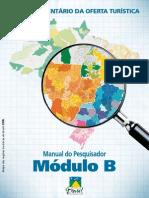 Manual do Pesquisador - Módulo B (Ministério Do Turismo)