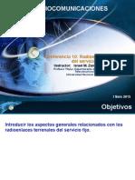 Lecture 10 Radioenlaces Terrenales Servicio Fijo - P1