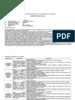 planificación curricular JUAN VELASCO ALVARADO 5°