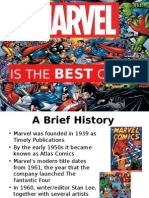 marvel is the best comic