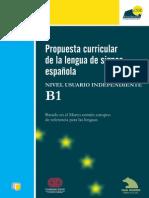 Propuesta Curricular LSE - B1