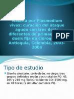 Malaria Por Plasmodium Vivax