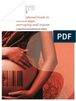 International Trade in Human Eggs Surrogacy and Organs