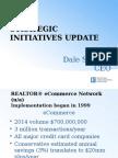 Strategic Initiatives Update, May 2015