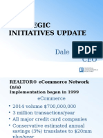 Strategic Initiatives Update, May 2015