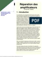Réparation amplificateur