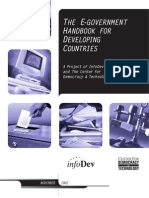The E-government Handbook for Developing Countries